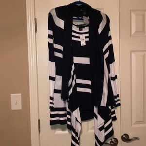 Lane Bryant tank & Flyaway sweater set 14/16 $15